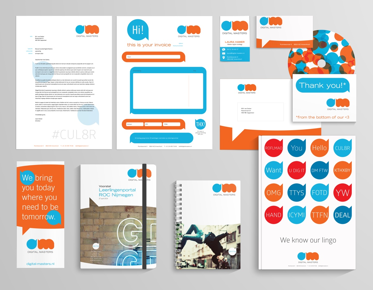 Branding Mock Up Digital Masters